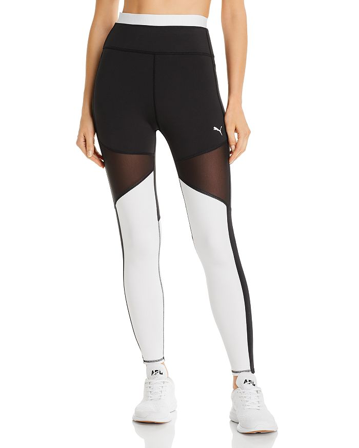 PUMA - Be Bold High-Rise Color-Block Leggings
