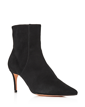 Schutz Women\\\'s Bette Leather Pointed Toe Booties