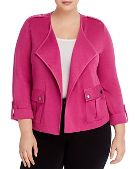NIC and ZOE Plus - Knit Open Jacket