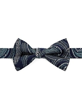 Ted Baker - Silk Paisley Print Bow Tie