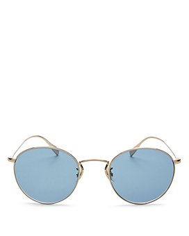 Oliver Peoples - Men's Coleridge Round Sunglasses, 50mm