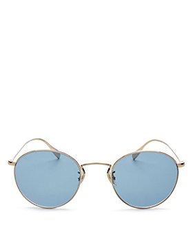 Oliver Peoples - Men's Coleridge Round Sunglasses, 50mm