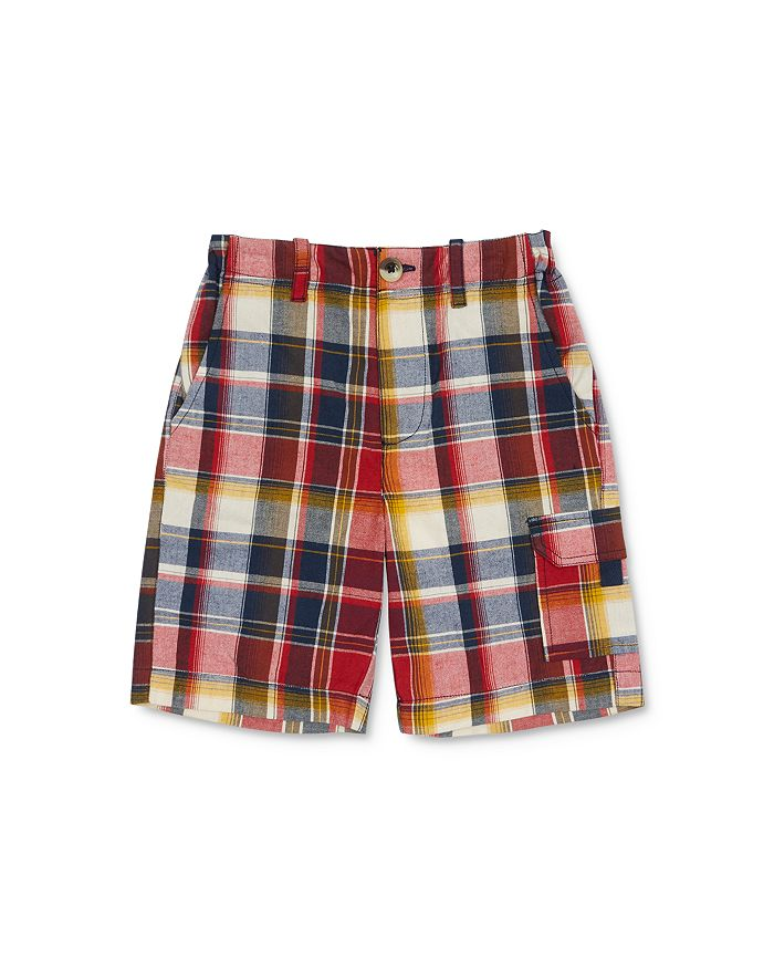 Peek Kids - Boys' Plaid Cargo Shorts - Little Kid, Big Kid
