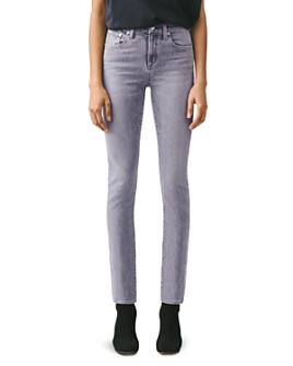 AGOLDE - Toni High-Rise Straight Jeans in Mirror