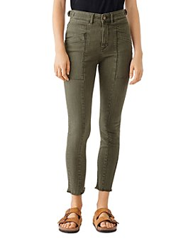 DL1961 - Farrow High-Rise Cropped Skinny Jeans in Kale