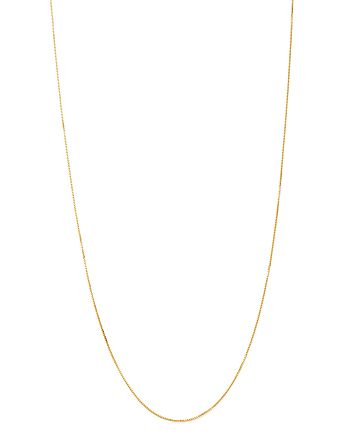 Bloomingdale's - Box Link Chain Necklace in 14K Yellow Gold - 100% Exclusive