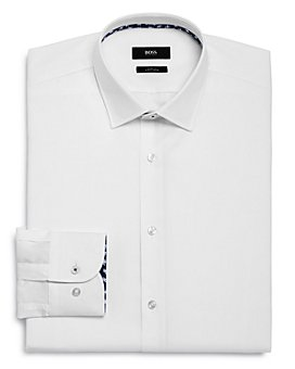 BOSS - Jesse Contrast Slim Fit Dress Shirt