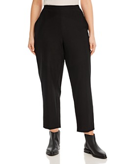 Eileen Fisher Plus - Tapered Pull-On Ankle Pants