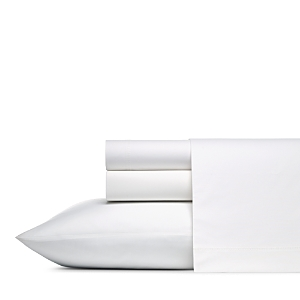 Vera Wang Solid Cotton Percale Sheet Set, King
