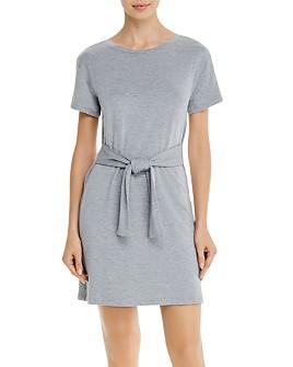 BB DAKOTA - Tie-Front Mini Dress