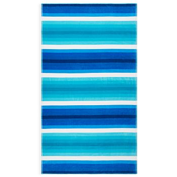 Sky - Cotton Ombré Stripe Beach Towel - 100% Exclusive