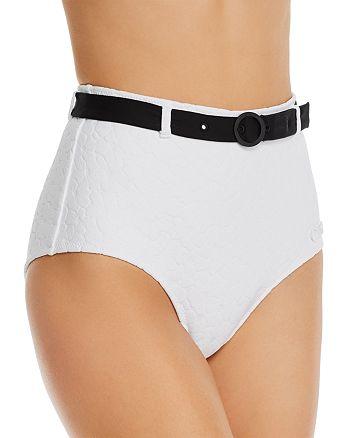 Solid & Striped - The Violet Belted Bikini Bottom