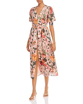 Atelier 1756 - Habenero Cotton Floral-Print Shirt Dress