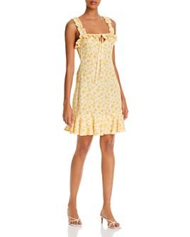 All Things Mochi - Reyna Sun-Print Dress
