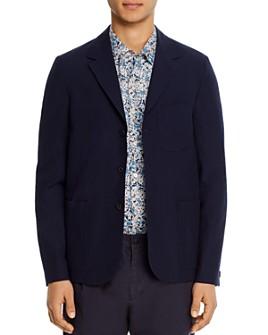 PS Paul Smith - Tonal Gingham Regular Fit Blazer