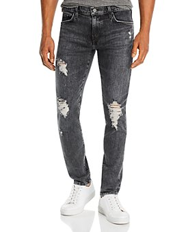 J Brand - Mick Skinny Fit Jeans in Floritus Black