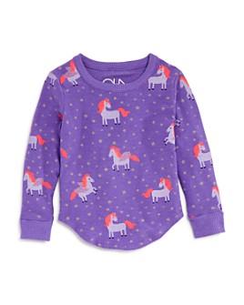 CHASER - Girls' Unicorn Cozy Knit Sweatshirt - Little Kid