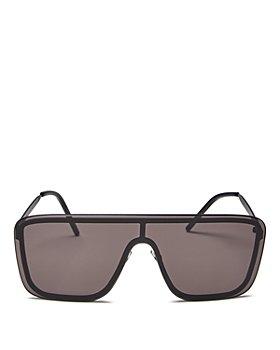 Saint Laurent - Women's Shield Sunglasses, 99mm