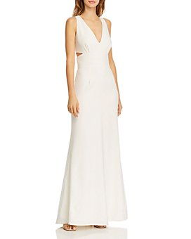 Laundry by Shelli Segal - Side Cutout Gown