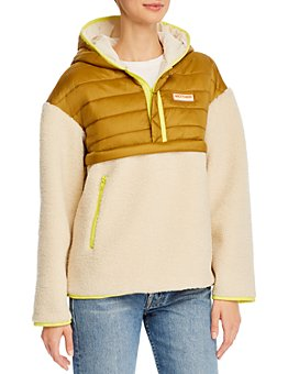 MOTHER - The Sherpuff Zip Pullover Jacket