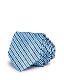 Michael Kors - Boys' Small-Plaid Silk Tie