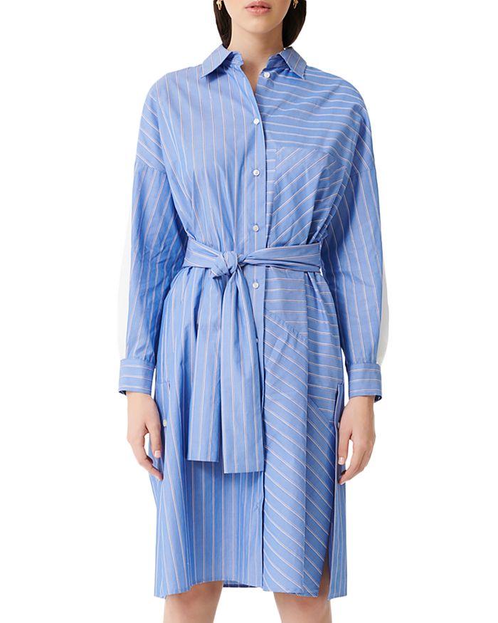 Maje - Roxelle Striped Shirtdress