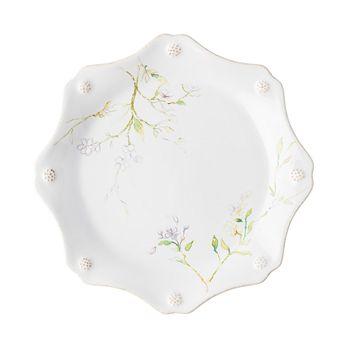 Juliska - Berry & Thread Floral Sketch Jasmine Dessert/Salad Plate