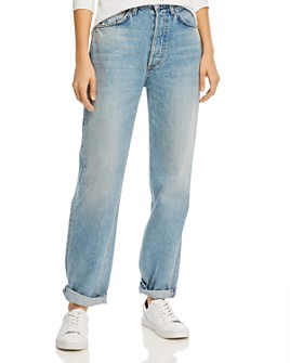 Boyish - The Toby High Rise Relaxed & Tapered Jeans in Gilda