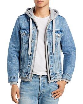 BLANKNYC - Layered-Look Slim Fit Denim Jacket
