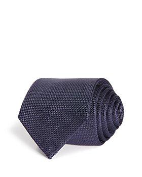 BOSS - Woven Solid Silk Classic Tie