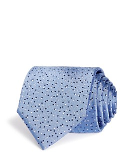 BOSS - Tossed Dots Silk Classic Tie