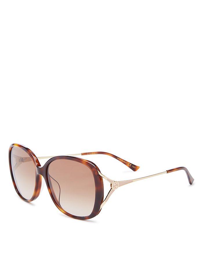 Gucci - Women's Square Sunglasses, 58mm