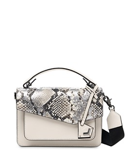 Botkier - Cobble Hill Mini Metallic Snake-Print Leather Crossbody