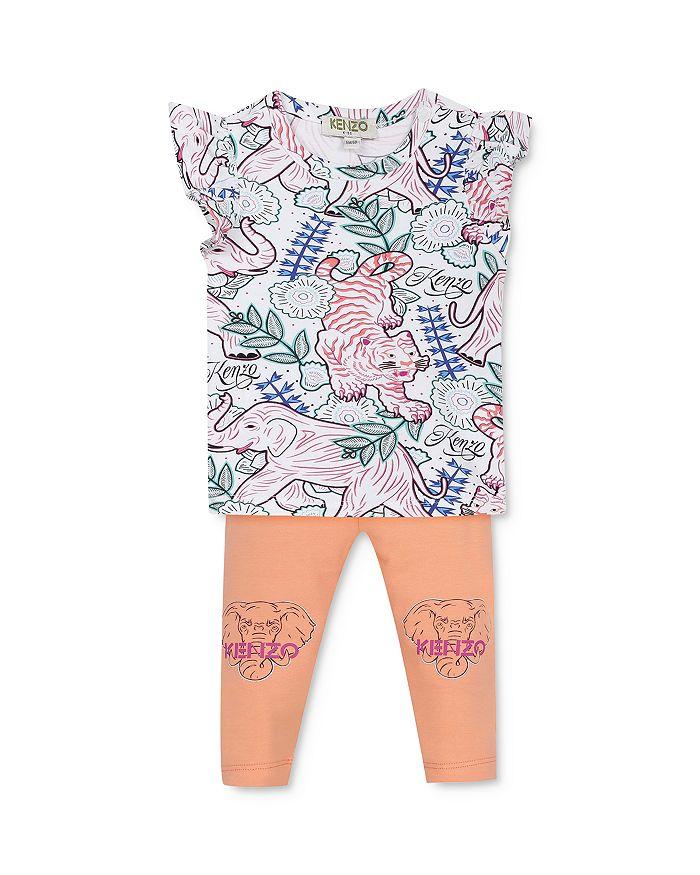 Kenzo - Girls' Printed Tee & Leggings Set - Baby