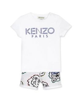 Kenzo - Boys' Cotton Logo Tee & Printed Shorts Set - Baby