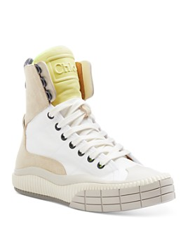 Chloé - Women's Clint Lace Up Sneakers