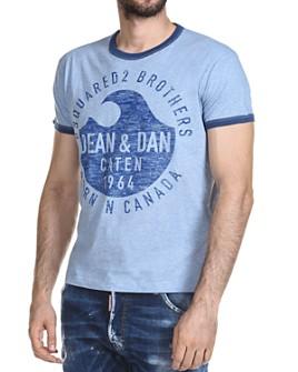 DSQUARED2 - Dean/Dan Ringer Tee