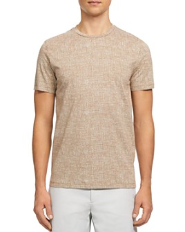 Theory - Printed Jersey Basic Tee