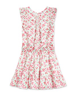 Ralph Lauren - Girls' Floral Poplin Dress - Big Kid