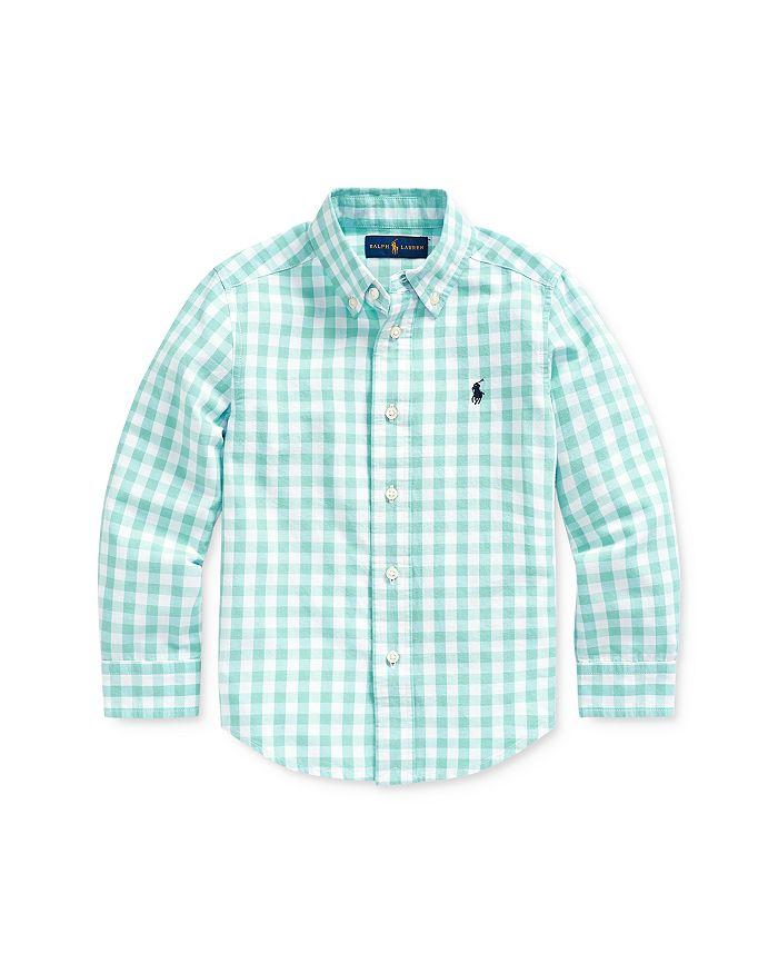 Ralph Lauren - Boys' Gingham Cotton-Blend Shirt - Little Kid