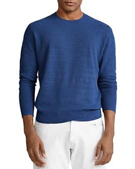 Polo Ralph Lauren - Cotton & Linen Regular Fit Crewneck Sweater