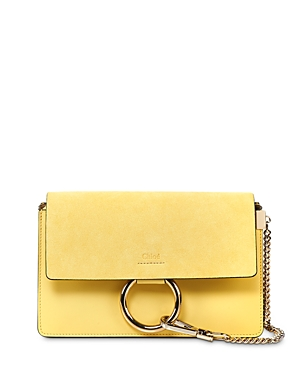Chloe Faye Small Leather Shoulder Bag