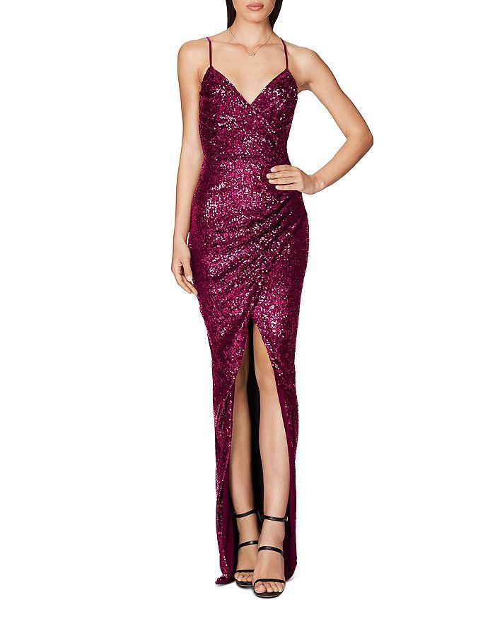 Nookie - Sequin Wrap Gown