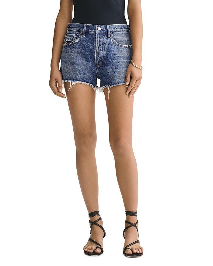 AGOLDE - Parker Cutoff Denim Shorts