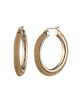 Ralph Lauren - Large Mesh Hoop Earrings