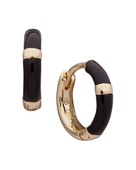 Ralph Lauren - Enamel Huggie Hoop Earrings