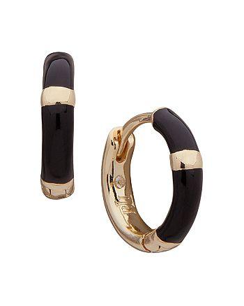 Ralph Lauren - Enamel Huggie Hoop Earrings