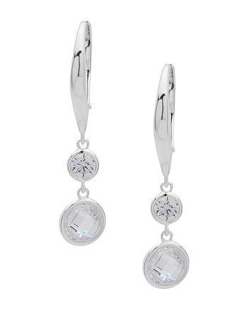 Ralph Lauren - Crystal Leverback Drop Earrings