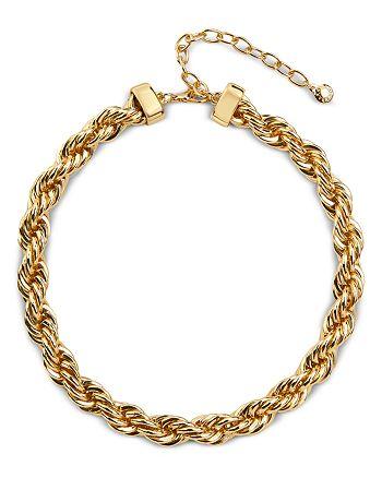 "BAUBLEBAR - Petra Rope Link Collar Necklace, 14-17"""