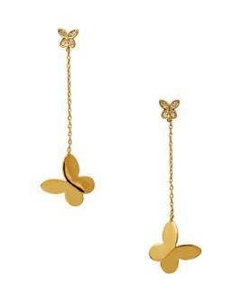 kate spade new york - In a Flutter Butterfly Drop Earrings